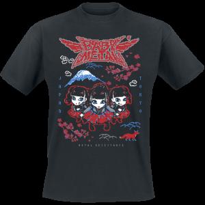 Babymetal - Pixel Tokyo - T-Shirt - black product image at Soundorabilia.com