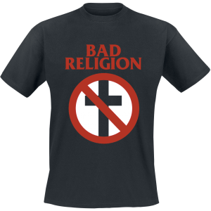 Bad Religion - Cross Buster - T-Shirt - black product image at Soundorabilia.com