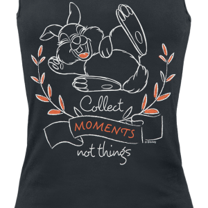 Bambi - Collect Moments Not Things - Girls Top - black product image at Soundorabilia.com