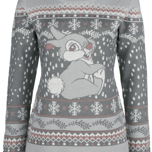 Bambi - Thumper - Girls sweatshirt - grey product image at Soundorabilia.com