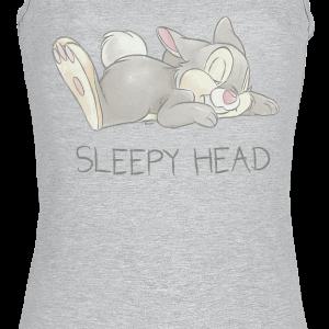 Bambi - Thumper - Sleepy Head - Girls Top - mottled grey product image at Soundorabilia.com