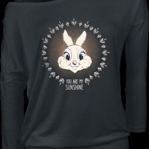 Bambi - You Are My Sunshine - Girls longsleeve - black product image at Soundorabilia.com