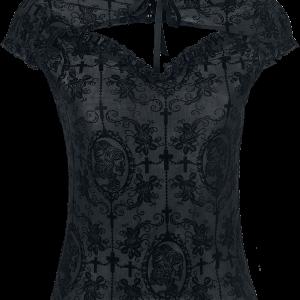 Banned - Dark Lady - Girls shirt - black product image at Soundorabilia.com
