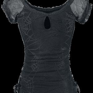 Banned - Spider - Girls shirt - black product image at Soundorabilia.com