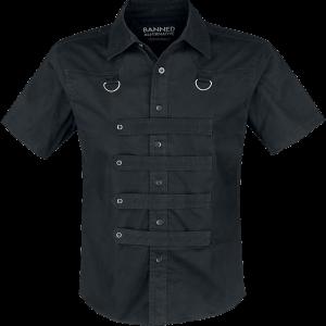 Banned - Strap Shirt - Workershirt - black product image at Soundorabilia.com