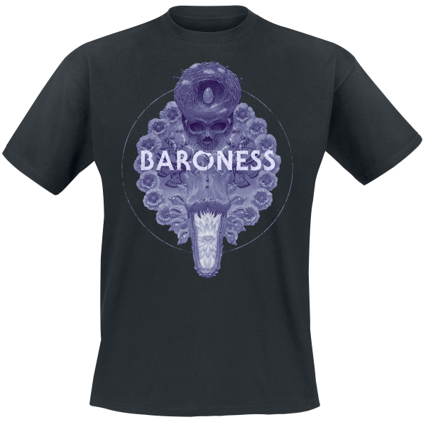 Baroness - Marald Gator - T-Shirt - black product image at Soundorabilia.com