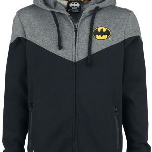 Batman - Bat-Logo - Hooded zip - black product image at Soundorabilia.com