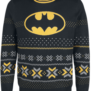 Batman - Logo - Knit sweater - black product image at Soundorabilia.com