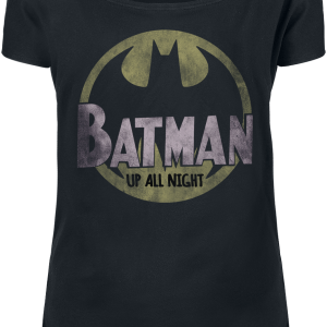 Batman - Up All Night - Girls shirt - black product image at Soundorabilia.com
