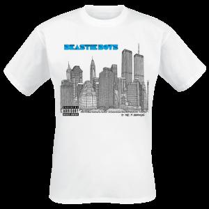 Beastie Boys - 5 Boroughts - T-Shirt - white product image at Soundorabilia.com
