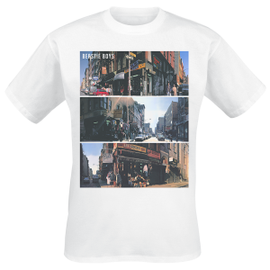 Beastie Boys - Street Images - T-Shirt - white product image at Soundorabilia.com