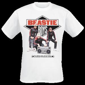 Beastie Boys - White Solid Gold Hits - T-Shirt - white product image at Soundorabilia.com