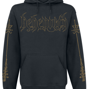 Behemoth - Crucifix - Hooded sweatshirt - black product image at Soundorabilia.com
