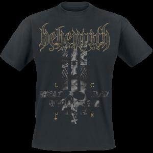 Behemoth - LCFR Cross - T-Shirt - black product image at Soundorabilia.com