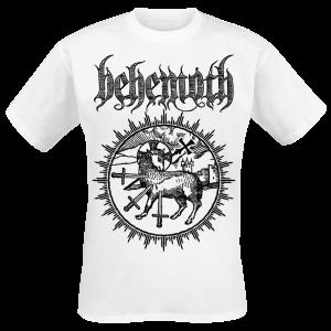 Behemoth - Lamb Sigil - T-Shirt - white product image at Soundorabilia.com
