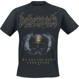 Behemoth - We Are The Next 1000 Years - T-Shirt - black product image at Soundorabilia.com