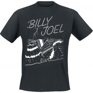 Billy Joel - Live At Sea - T-Shirt - black product image at Soundorabilia.com