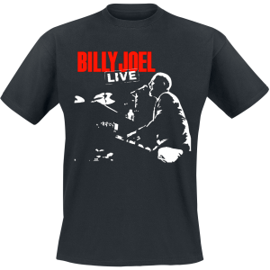 Billy Joel - Live - T-Shirt - black product image at Soundorabilia.com