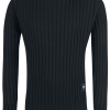 Black Premium by EMP - You And Whose Army? - Knit sweater - black product image at Soundorabilia.com