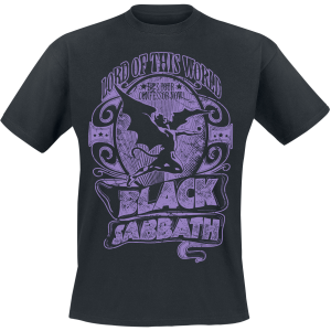 Black Sabbath - Lord Of This World - T-Shirt - black product image at Soundorabilia.com