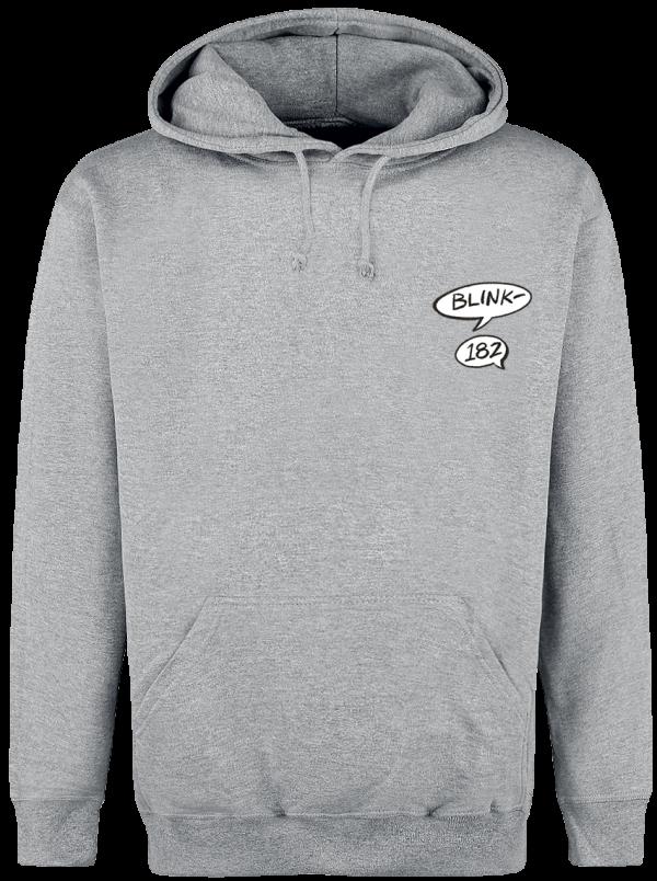 Blink 182 - Rabbit - Hooded sweatshirt - grey product image at Soundorabilia.com