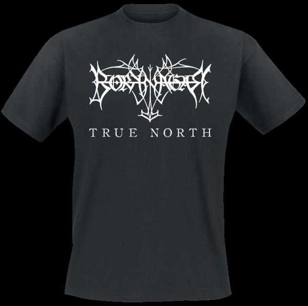 Borknagar - True North - Logo - T-Shirt - black product image at Soundorabilia.com