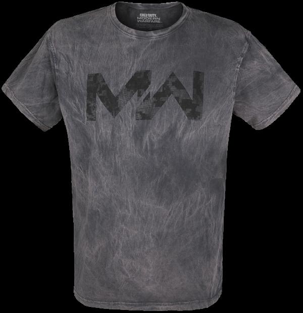Call Of Duty - Modern Warfare - Logo - T-Shirt - grey product image at Soundorabilia.com