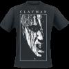 Clayman Ltd. - Dark Face - T-Shirt - black product image at Soundorabilia.com