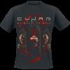 Cyhra - No Halos In Hell - T-Shirt - black product image at Soundorabilia.com