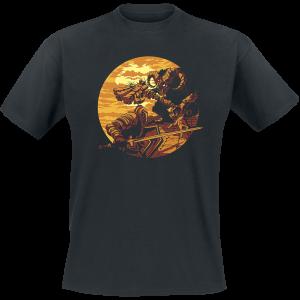 Dark Souls - Monster Axe - T-Shirt - black product image at Soundorabilia.com