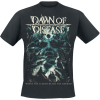 Dawn Of Disease - Where The Clouds Reach The Ground - T-Shirt - black product image at Soundorabilia.com