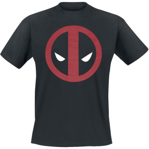 Deadpool - Logo - T-Shirt - black product image at Soundorabilia.com
