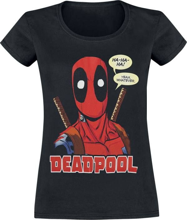 Deadpool - Whatever - Girls shirt - black product image at Soundorabilia.com
