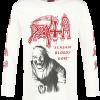 Death - Scream Bloody Gore - Longsleeve - off white product image at Soundorabilia.com