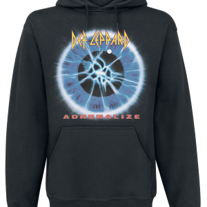 Def Leppard - Adrenalize - Hooded sweatshirt - black product image at Soundorabilia.com