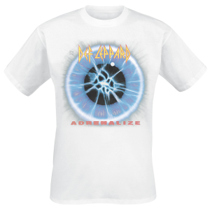 Def Leppard - Adrenalize - T-Shirt - white product image at Soundorabilia.com