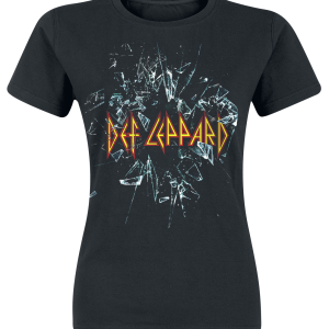 Def Leppard - Let's Get Rocked - Girls shirt - black product image at Soundorabilia.com