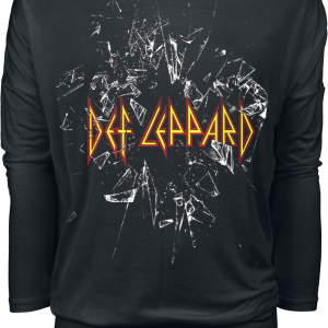 Def Leppard - Shatter Logo - Girls longsleeve - black product image at Soundorabilia.com