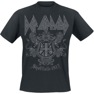 Def Leppard - Sheffield - T-Shirt - black product image at Soundorabilia.com