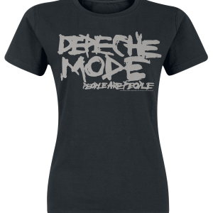 Depeche Mode - People Are People - Girls shirt - black product image at Soundorabilia.com