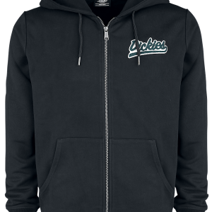 Dickies - Monticello - Hooded zip - black product image at Soundorabilia.com