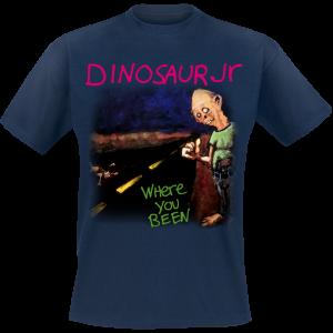 Dinosaur Jr. - Where You Been - T-Shirt - blue product image at Soundorabilia.com