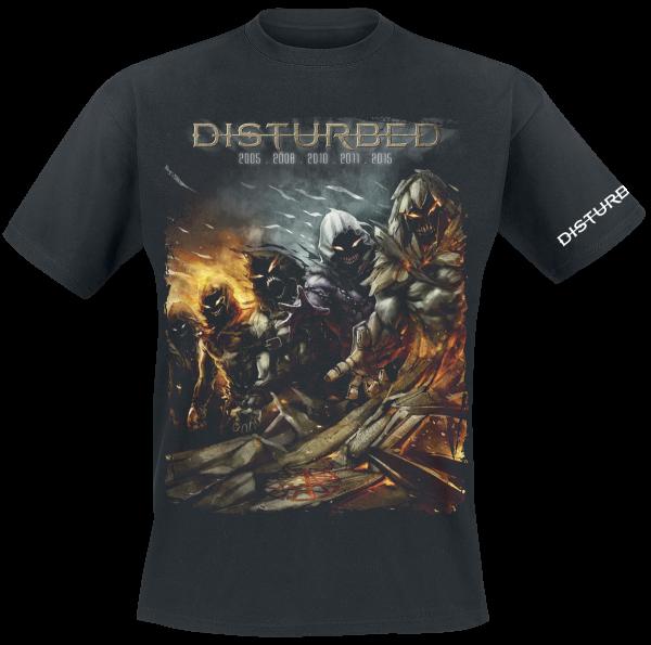 Disturbed - Evolution - The Guy - T-Shirt - black product image at Soundorabilia.com