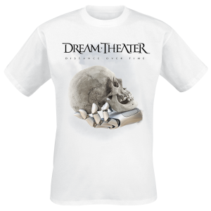Dream Theater - Distance Over Time Album Cover - T-Shirt - white product image at Soundorabilia.com