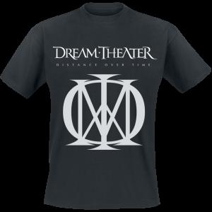 Dream Theater - Distance Over Time Logo - T-Shirt - black product image at Soundorabilia.com