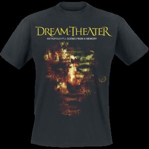 Dream Theater - Metropolis SFAM - T-Shirt - black product image at Soundorabilia.com