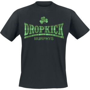 Dropkick Murphys - Fighter Plaid - T-Shirt - black product image at Soundorabilia.com