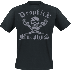 Dropkick Murphys - Jolly Roger - T-Shirt - black product image at Soundorabilia.com