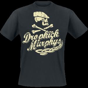 Dropkick Murphys - Scally Skull Ship - T-Shirt - black product image at Soundorabilia.com