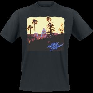 Eagles - Hotel California - T-Shirt - black product image at Soundorabilia.com
